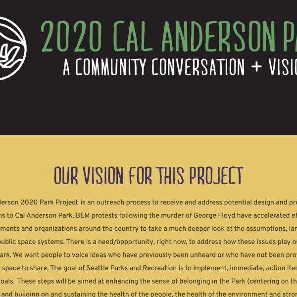 Cal Anderson Park Initiative