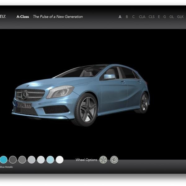 The Interactive Configurator – Mercedes