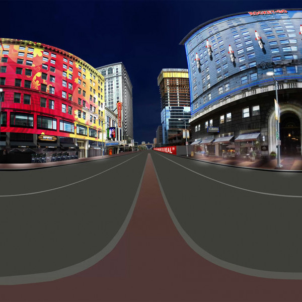 DLR Group Cleveland Entertainment District Imagined.